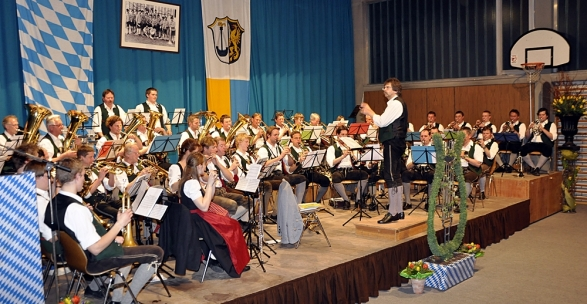 Niederaudorf_Musikkapelle_Josefikonzert_2010