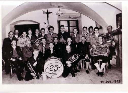 25 Jähriges Jubiläum 1959 (Waller Reisach)