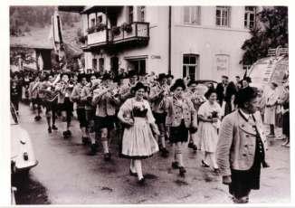 Gaufest in Niederaudorf (Dirigent Martin Schäffler)