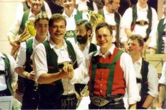 Stabübergabe Gruber an Wieser Josefikonzert 2000